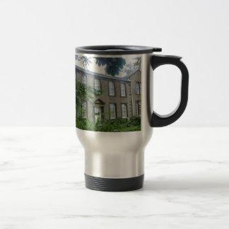 Bronte Parsonage in Haworth, Yorkshire Travel Mug