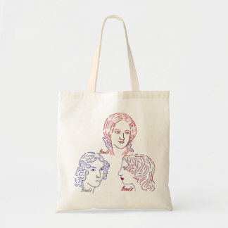 Bronte Sisters Unite! Budget Tote Bag