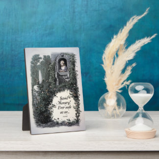 "Brontë ""Sweet Memory"" Victorian 5x7 Art Plaque"
