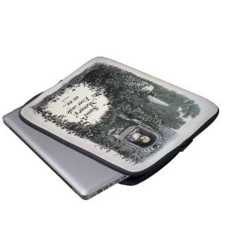 """Brontë """"Sweet Memory"""" Victorian Laptop Sleeve"""