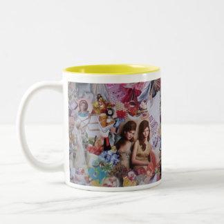 Bronte Two-Tone Coffee Mug