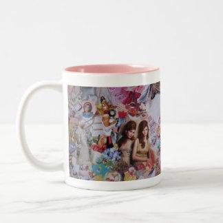 bronte' Two-Tone coffee mug