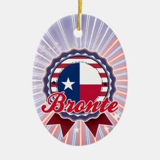 Bronte, TX Ornamento Para Arbol De Navidad