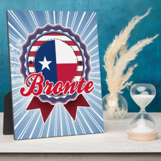 Bronte, TX Display Plaques