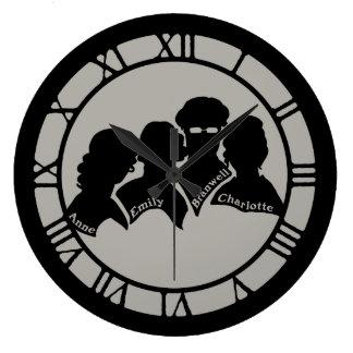 Brontes Silhouettes Large Clock