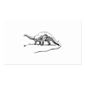 Brontosaurus Business Card