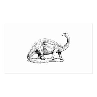 Brontosaurus Business Card Templates