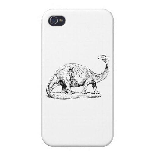 Brontosaurus Case For iPhone 4