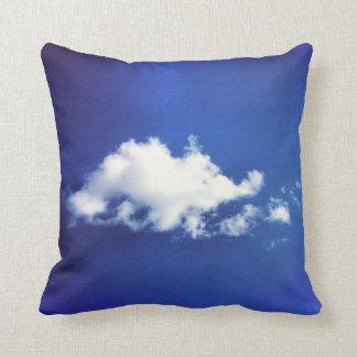 Brontosaurus Cloud Throw Pillow