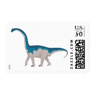 Brontosaurus Dinosaur Ancient Pre-Historic Stamp