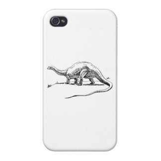 Brontosaurus iPhone 4 Cárcasas