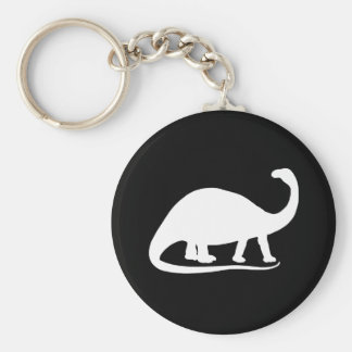 Brontosaurus Keychain