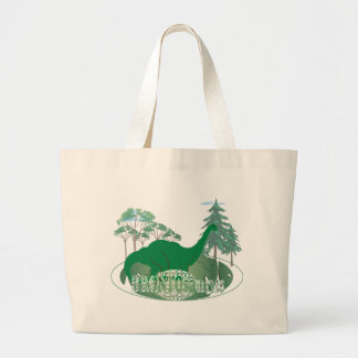 Brontosaurus Large Tote Bag