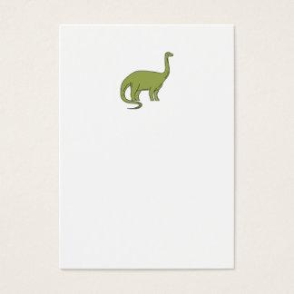 Brontosaurus Mono Line Business Card