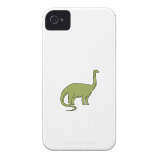 Brontosaurus Mono Line iPhone 4 Cover