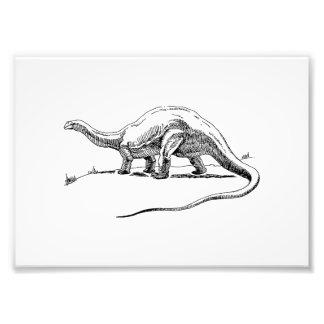 Brontosaurus Art Photo