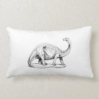 Brontosaurus Pillow
