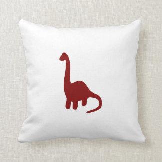 Brontosaurus Throw Pillows