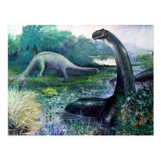 Brontosaurus Postcard