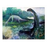 Brontosaurus Postcards