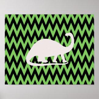 brontosaurus poster