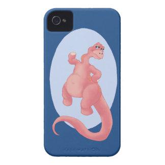 Brontosaurus Stomp iPhone 4 Case-Mate Case
