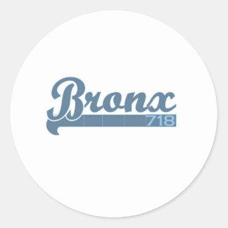 Bronx 1 classic round sticker