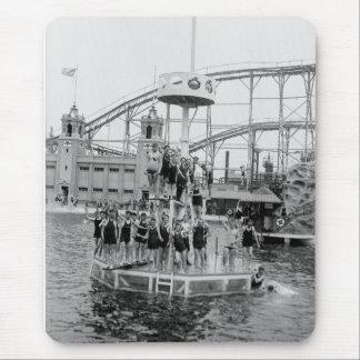 Bronx Amusement Park, 1920s Mousepad