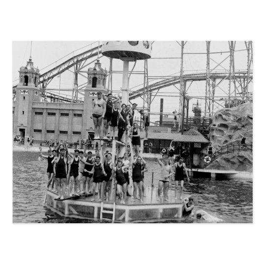 Bronx Amusement Park, 1920s Postcard