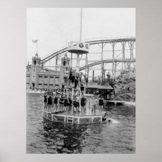 Bronx Amusement Park, 1920s Print