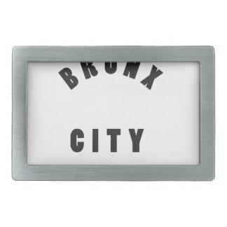 Bronx city belt buckles