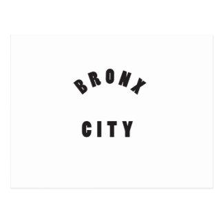 Bronx city postcard