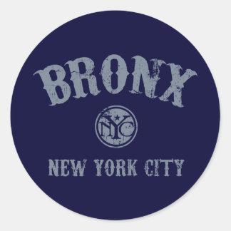 *Bronx Classic Round Sticker