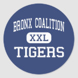 Bronx Coalition - Tigers - Community - Bronx Round Sticker