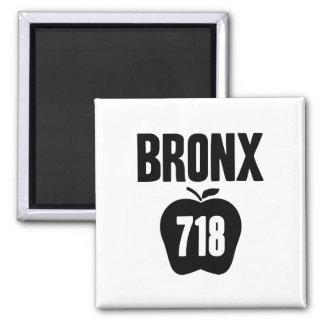 Bronx con Apple y el recorte grandes del código de Imán Cuadrado