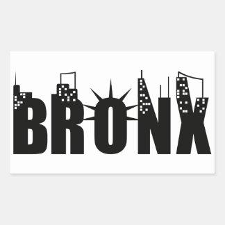 Bronx Day Rectangular Sticker