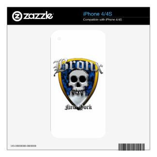 Bronx Decal For iPhone 4