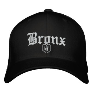 Bronx Embroidered Baseball Cap