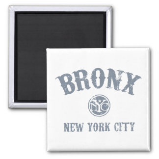 *Bronx 2 Inch Square Magnet