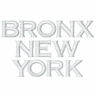 BRONX NEW YORK BRONX BOMBERS Embroidered Jacket