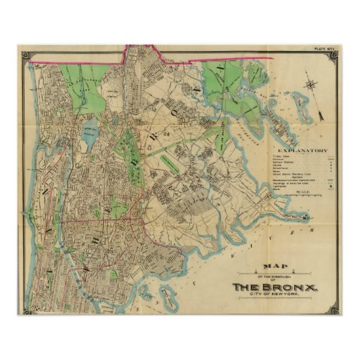 Bronx, New York Poster