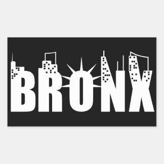 Bronx Night Rectangular Sticker