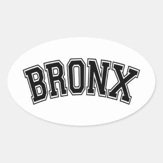 BRONX OVAL STICKER