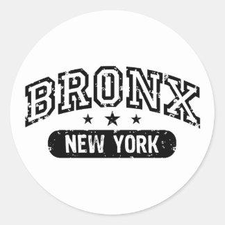 Bronx Pegatina Redonda