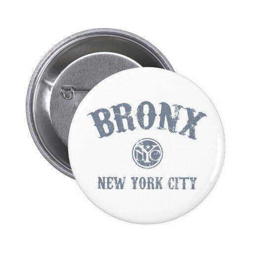 *Bronx Pin Redondo De 2 Pulgadas