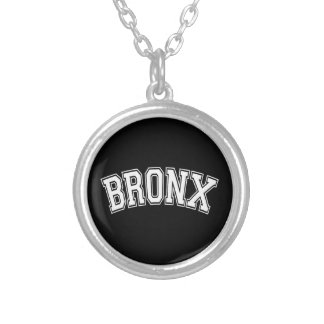 BRONX SILVER PLATED NECKLACE