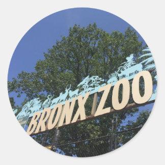 Bronx Zoo Classic Round Sticker