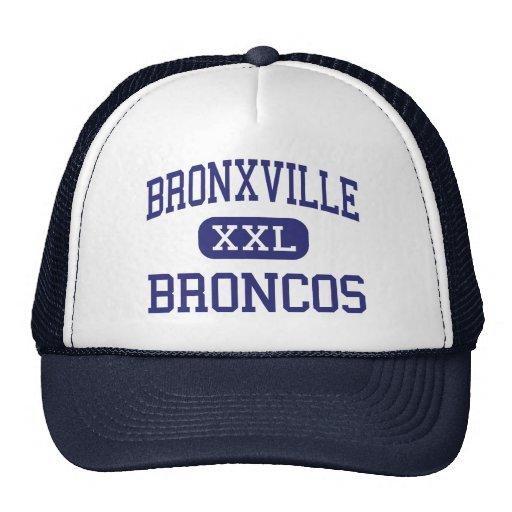 Bronxville - Broncos - High - Bronxville New York Trucker Hat