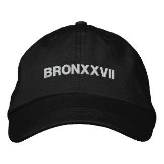 BRONXXVII EMBROIDERED BASEBALL CAP