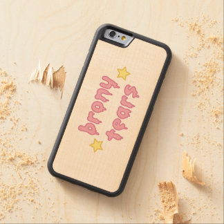brony tears bronies IPHONE CASE Carved® Maple iPhone 6 Bumper